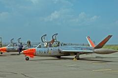 Fouga Magister de la SLVSV 10e EC vu sur la BA 110