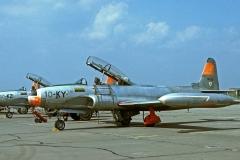T-33A sur la BA 110 de Creil