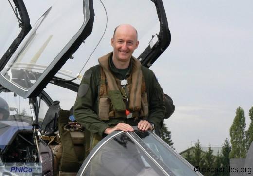 Alphajet pilote