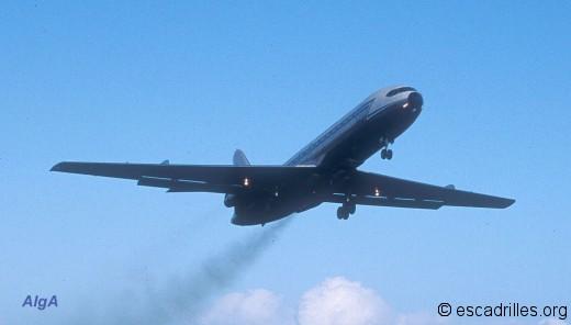 Ultime décollage au départ de Faaa, le 13 juin