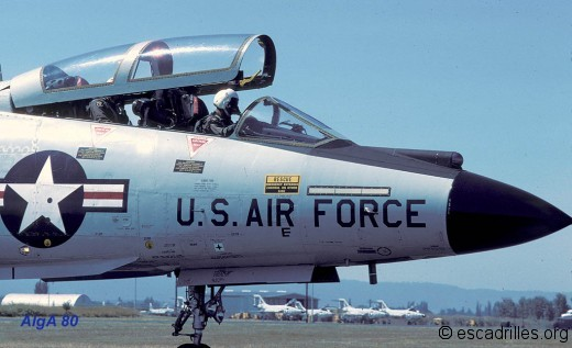 Pilote et WSO d'un F-101B à Portland