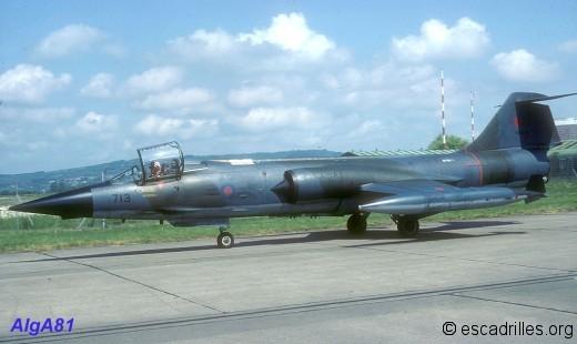 F104 1981 CAF713
