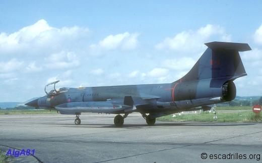 F104 1981 CAF808