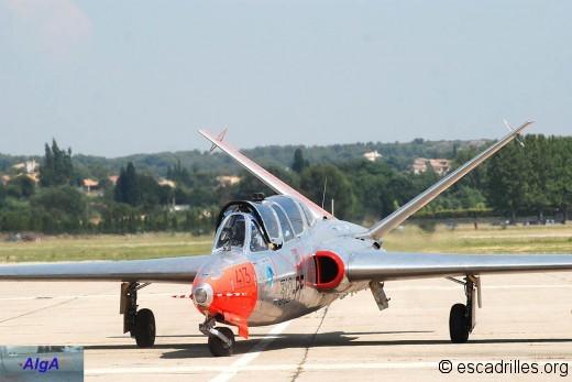 Le Fouga aux couleurs du GE-312