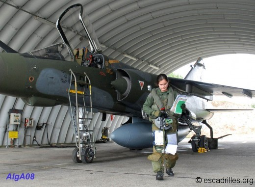 Le Mirage F-1 CT chasseur tactique monoplace
