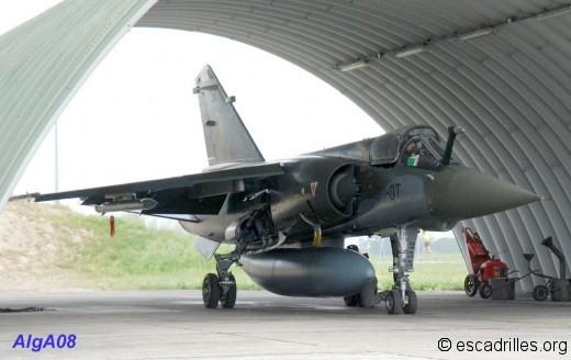 F1CT sous son arche de protection de la BA-132 en mai 2008