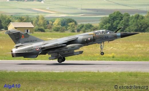 F-1CR du Savoie vu la BA-112 le 22 juin 2010