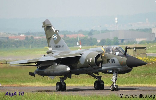 F1-CR au roulage pour une sortie d'entraînement