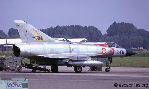 Mirage 3C 1974 2-FB