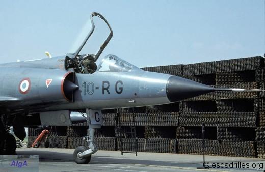 Mirage IIIC du 2/10 en 1984