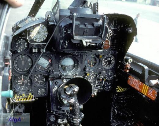 Mirage IIIC planche de bord
