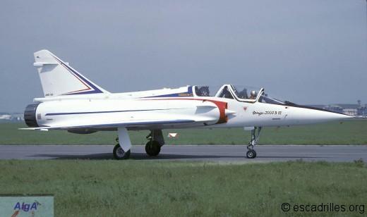 Mirage 2000B 01 1981