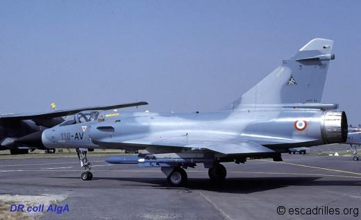 Mirage 2000C du CEAM 1983