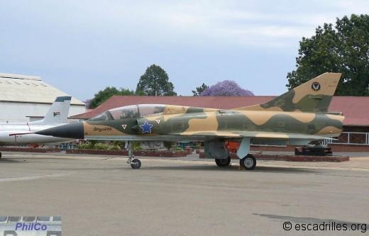Mirage IIIBZ sn 818 du 2nd Sqn.
