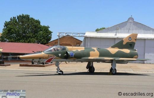 Mirage IIIR SAAF
