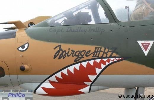 Mirage IIIR  shark
