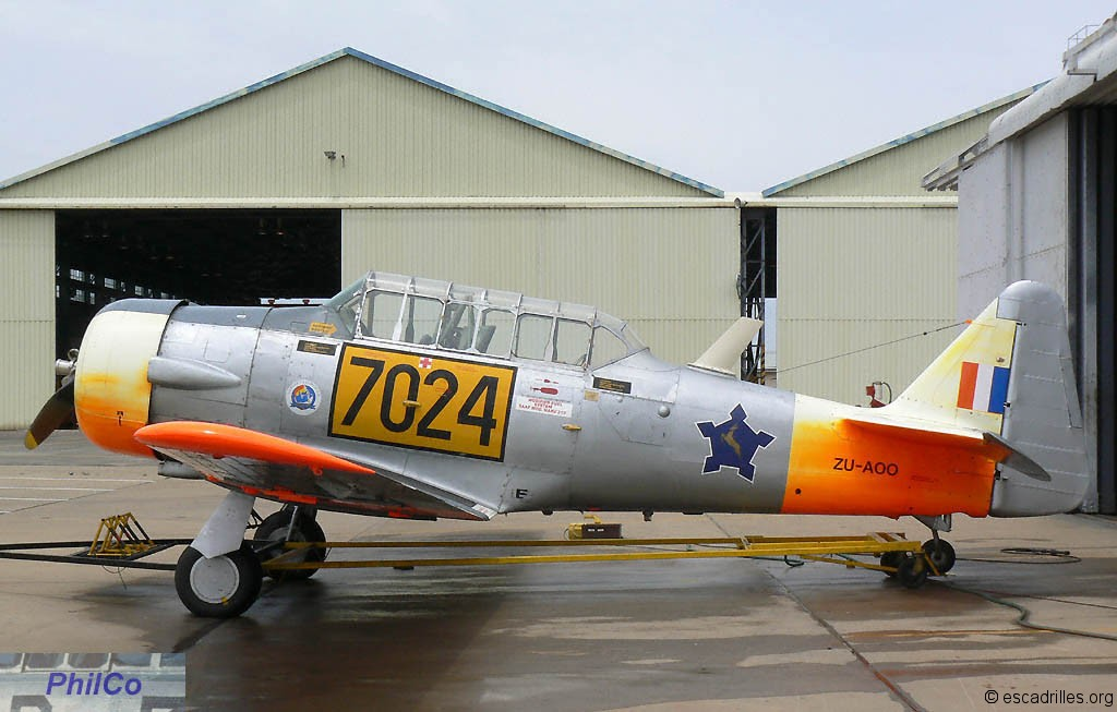 Swartkop, mémoire de la SAAF - Escadrilles