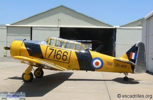 T-6 SAAF 7166