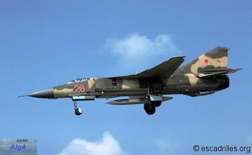 MiG-23 à Reims en 1978