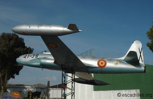 Lockheed T-33A espagnol