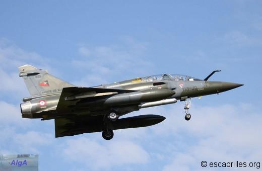"""Mirage 2000D du 2/3 """"Champagne"""""""