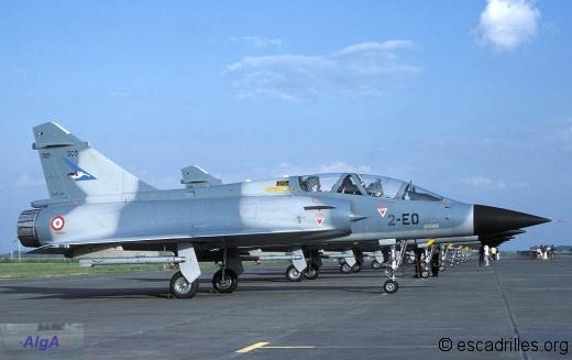 Mirage 2000B du 1/2 sur la BA 102 en 1984
