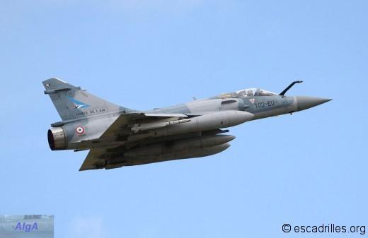 """Mirage 2000-5F du 1/2 """"Cigognes"""" au décollage"""