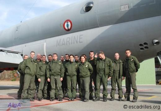 Atlantique équipage
