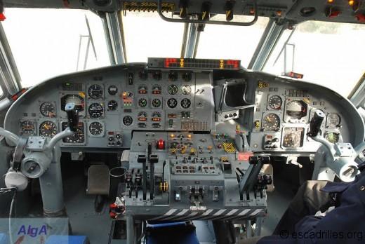 Le vaste cockpit de l'Atlantique