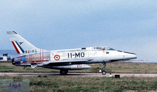 F-100D du 2/11 en 1974