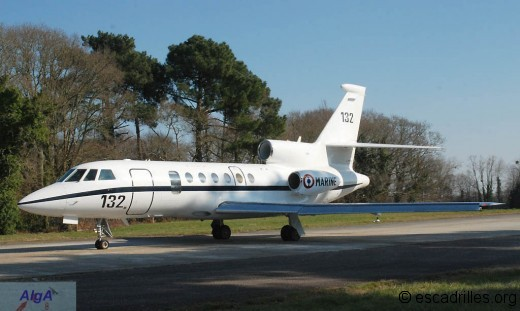 Falcon 50 en 2010
