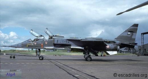 "Jaguar E du 4/11 ""Jura"" en 1988"