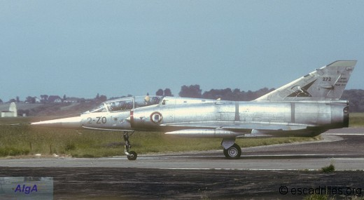 Mirage IIIBE du 2/2 en 1980