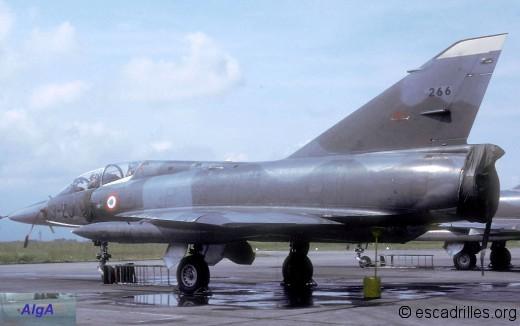 "Mirage IIIBE du 1/13 ""Artois"" en 1988"