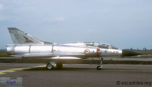 Mirage IIIB du 2/2 en 1980