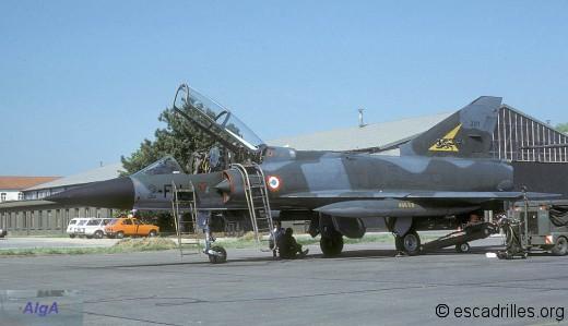 Mirage IIIB du 2/2 en 1984