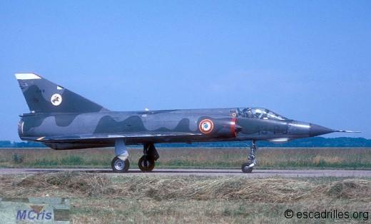 Mirage IIIE du 2/13 en 1974