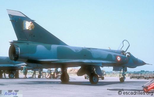 Mirage IIIE du 2/4 vu en 1986