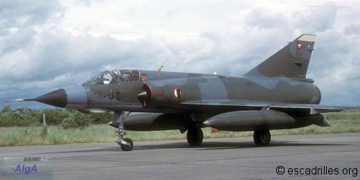 Mirage IIIE du 2/3 en 1988