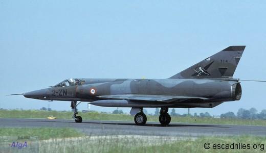 Mirage IIIR du 2/2 en 1984