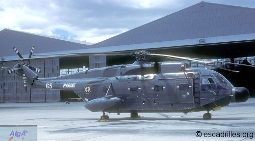Super Frelon 1984 33F 65