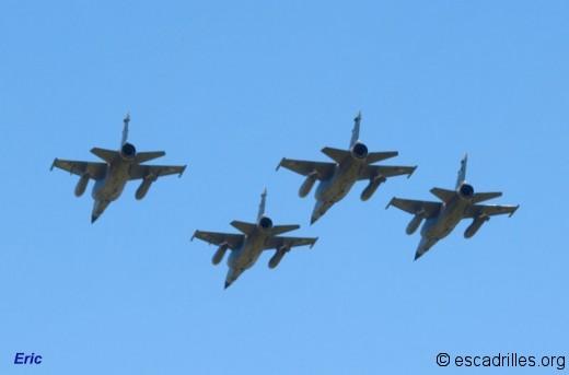 défilé de 4 F-1CR