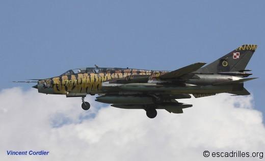 Sukhoi 22 à Luxeuil