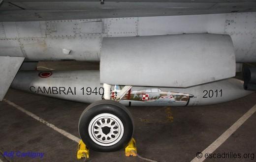 Bidon de F-16 polonais