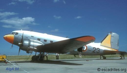 Dakota de la 56S en juin 1984
