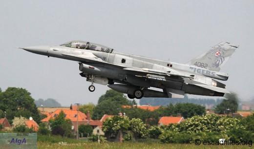 F-16D polonais