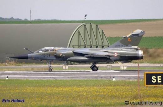 F-1CR 112-CT le 20 juillet