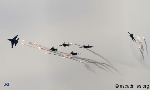 Su 27 Russian Knights