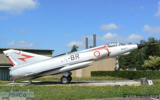 Beau Mirage IIIE en décoration pré-1972