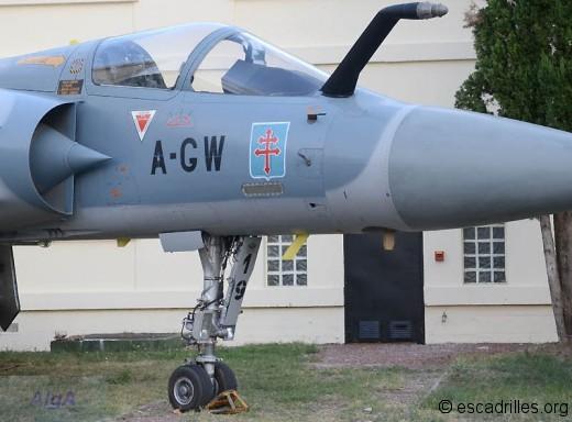 Mirage 2000, décoré Squadron 340